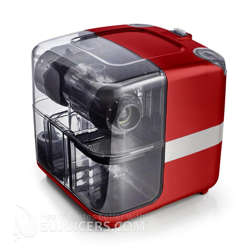 esrattore di succo Omega Juice Cube 302R rosso