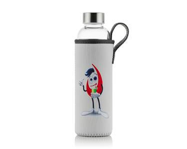Borosilicate Glass Bottle with EUJ sleeve