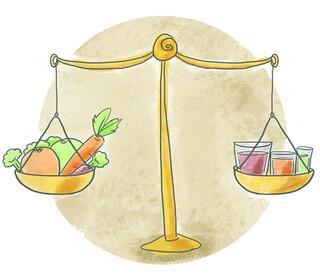 Bilancia equilibrata
