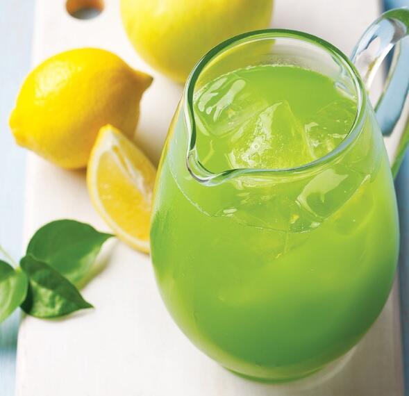 La limonata verde per le giornate calde