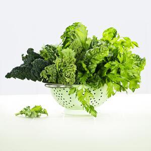 succo della verdura a foglie