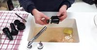 come pulire estrattore di succo