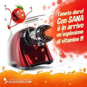 Estrattore di succo Sana rosso (2)